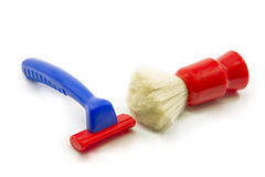 Childs toy shaving kit Royalty Free Stock Photography