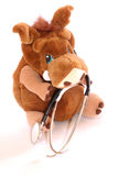 Childs Toy with Stethoscope. Isolated Childs Toy with Stethoscope on white background Stock Images