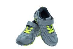 Childs trägt Schuh zur Schau Stockfoto