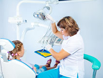 Dentist's office Royalty Free Stock Images