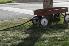 Childs Wagon Retired Royalty Free Stock Image