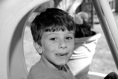 childs wyrażeniowi fotografia stock