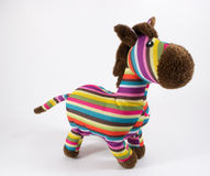 Childs Zebra Toy Stock Photography