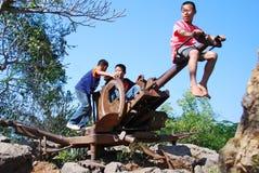 Childsspel Stock Foto's