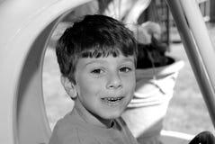 childsuttryck arkivbild