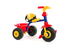 Childy tricycle Royalty Free Stock Images