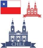 chile illustration stock