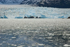 Chile - Amalia Glacier - Close-up Royalty Free Stock Photos