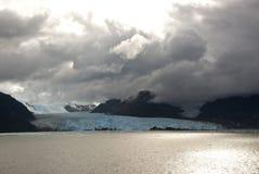 Chile - Amalia Glacier Dramatic Landscape Stock Image