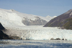 Chile - Amalia Glacier Landscape Royalty Free Stock Photos