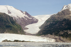 Chile - Amalia Glacier Landscape Royalty Free Stock Photography