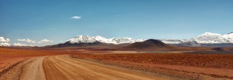 Chile Atacama öken Arkivfoton
