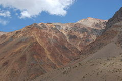chile berg Arkivfoton