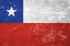 Chile - Chilean Flag Stock Photography