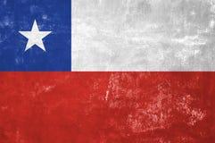 Chile - chilensk flagga Arkivbild