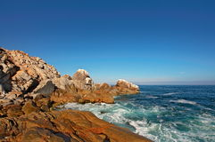 Chile. Coast. Bay. Royalty Free Stock Photos