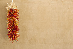 chile czerwieni ristras Fotografia Royalty Free