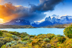 chile Del Obywatel paine parka torres obrazy royalty free