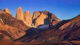 chile del paine patagoniatorres fotografering för bildbyråer