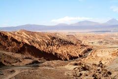 Chile, desierto de Atacama, Death Valley y x28; Valle de la Muerte& x29; fotos de archivo
