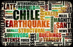 Chile Earthquake Royalty Free Stock Photo