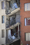 Chile Earthquake Damage Royalty Free Stock Images