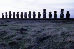 chile Easter wyspy moai Zdjęcia Stock