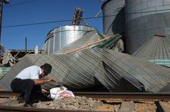 chile en terremoto Fotografia Royalty Free