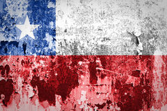 Chile Flag Royalty Free Stock Photo