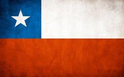 Chile Flag Stock Photo