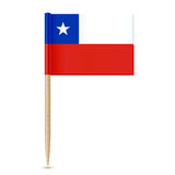 Chile Flag toothpick Royalty Free Stock Photos