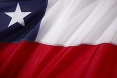 chile flaga Zdjęcie Royalty Free