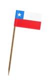 chile flagga Arkivbilder