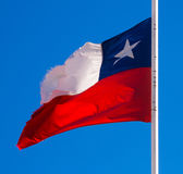 chile flagga Royaltyfri Foto