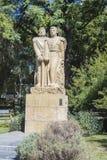 Chile fyrkant i Mendoza, Argentina. arkivfoto