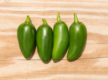 Chile Jalapeno hot chili pepper Stock Images