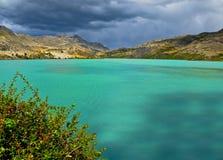 chile jeziora góra zdjęcie royalty free