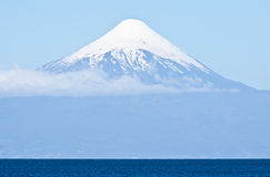 chile osorno wulkan Obraz Royalty Free