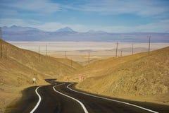 Chile. Pan-American Datenbahn. Straße. Stockbilder