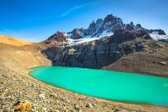 Chile Patagonia. Landscape, Cerro Castillo National Park stock photo