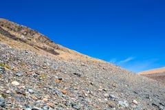 Chile Patagonia. Landscape, Cerro Castillo National Park royalty free stock photo