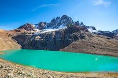 Chile Patagonia. Landscape, Cerro Castillo National Park stock images