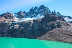 Chile Patagonia. Landscape, Cerro Castillo National Park royalty free stock photos