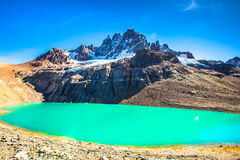 Chile Patagonia. Landscape, Cerro Castillo National Park, South America royalty free stock photography