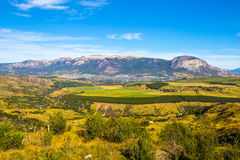 Chile Patagonia. Landscape, Cerro Castillo National Park, South America royalty free stock images