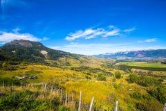 Chile Patagonia. Landscape, Cerro Castillo National Park, South America royalty free stock image
