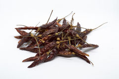 Chile peppar, vit som är röd, kryddor som är thai, chili, bakgrund, mat, chili Royaltyfri Fotografi