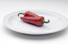 Chile peppers Stock Photography