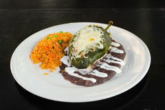 Chile Relleno Royalty Free Stock Photo