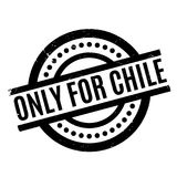 Only For Chile rubber stamp Royalty Free Stock Photos